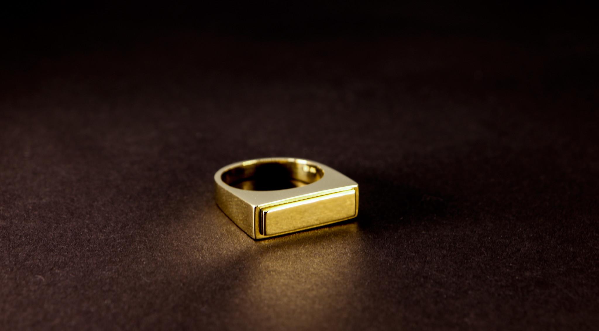 (As)ring QUART, goud-1