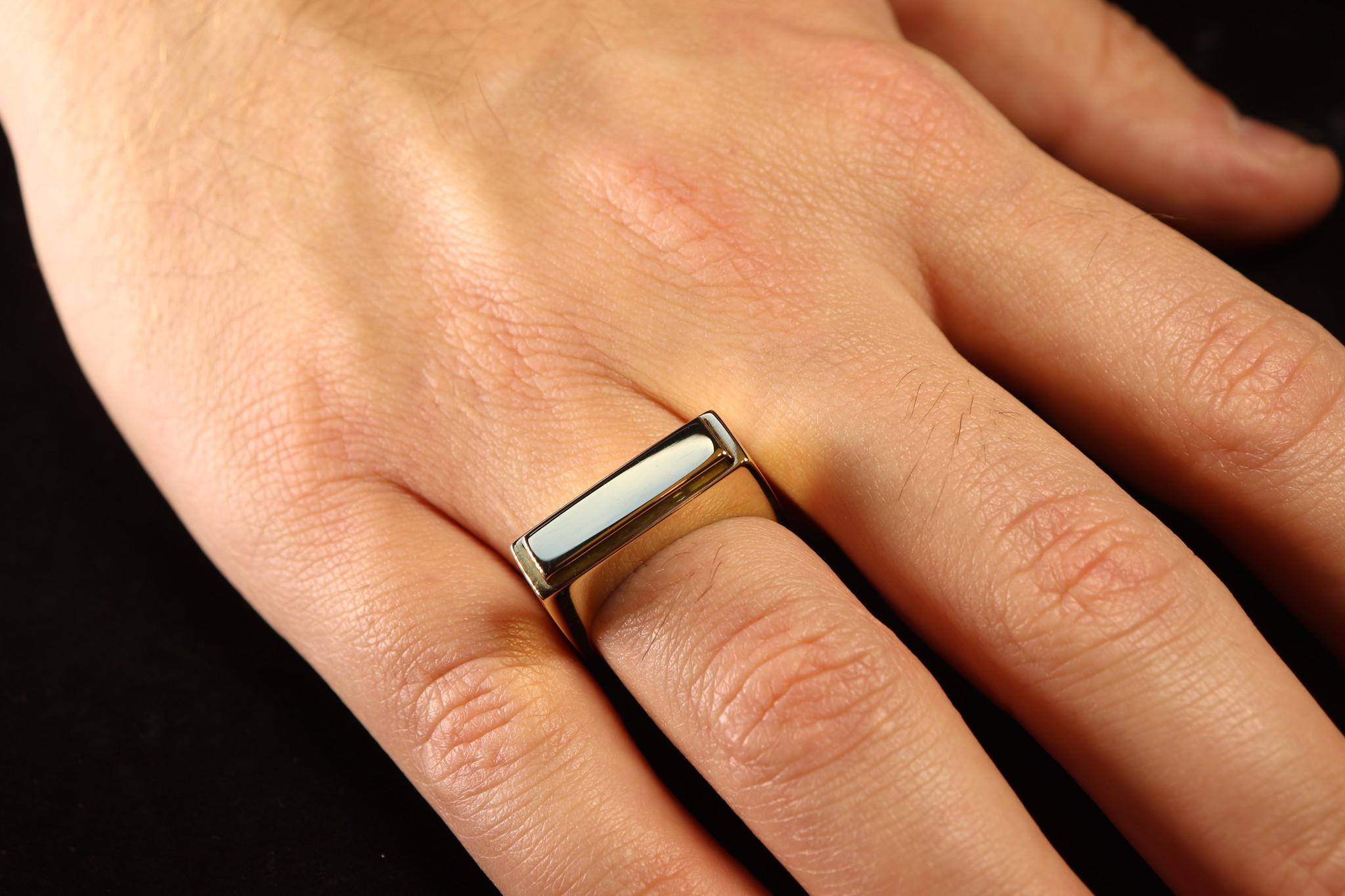 (As)ring QUART, goud-4