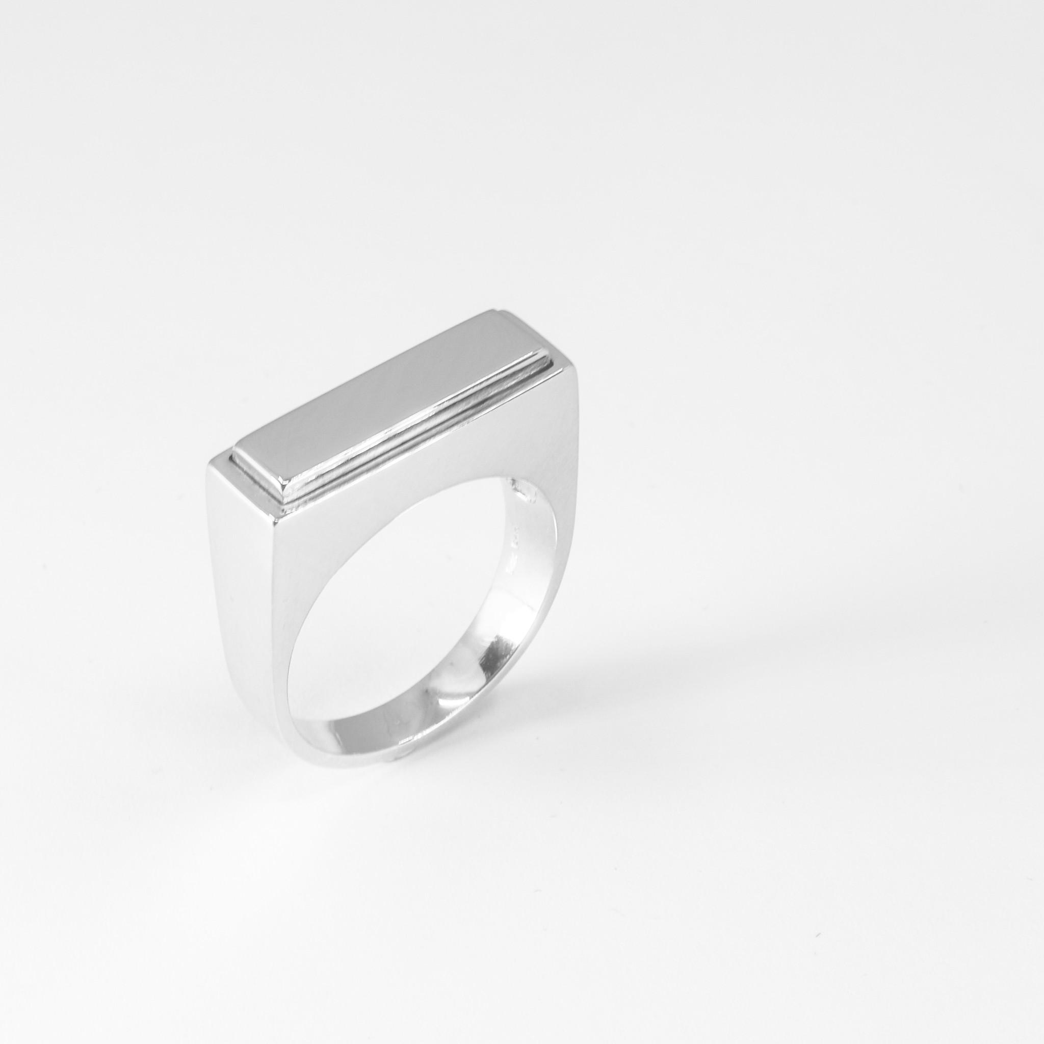 (As)ring QUART, zilver-2