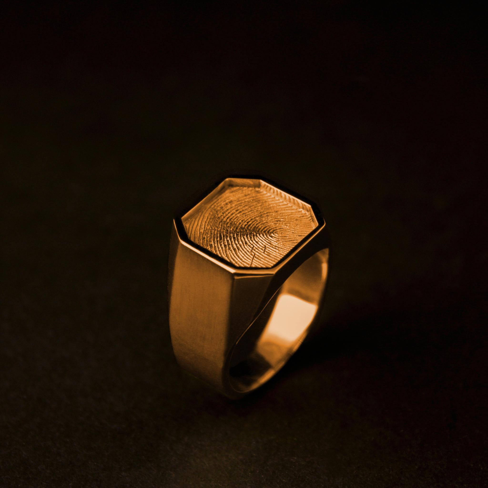 Ring ALTIJD, goud-2
