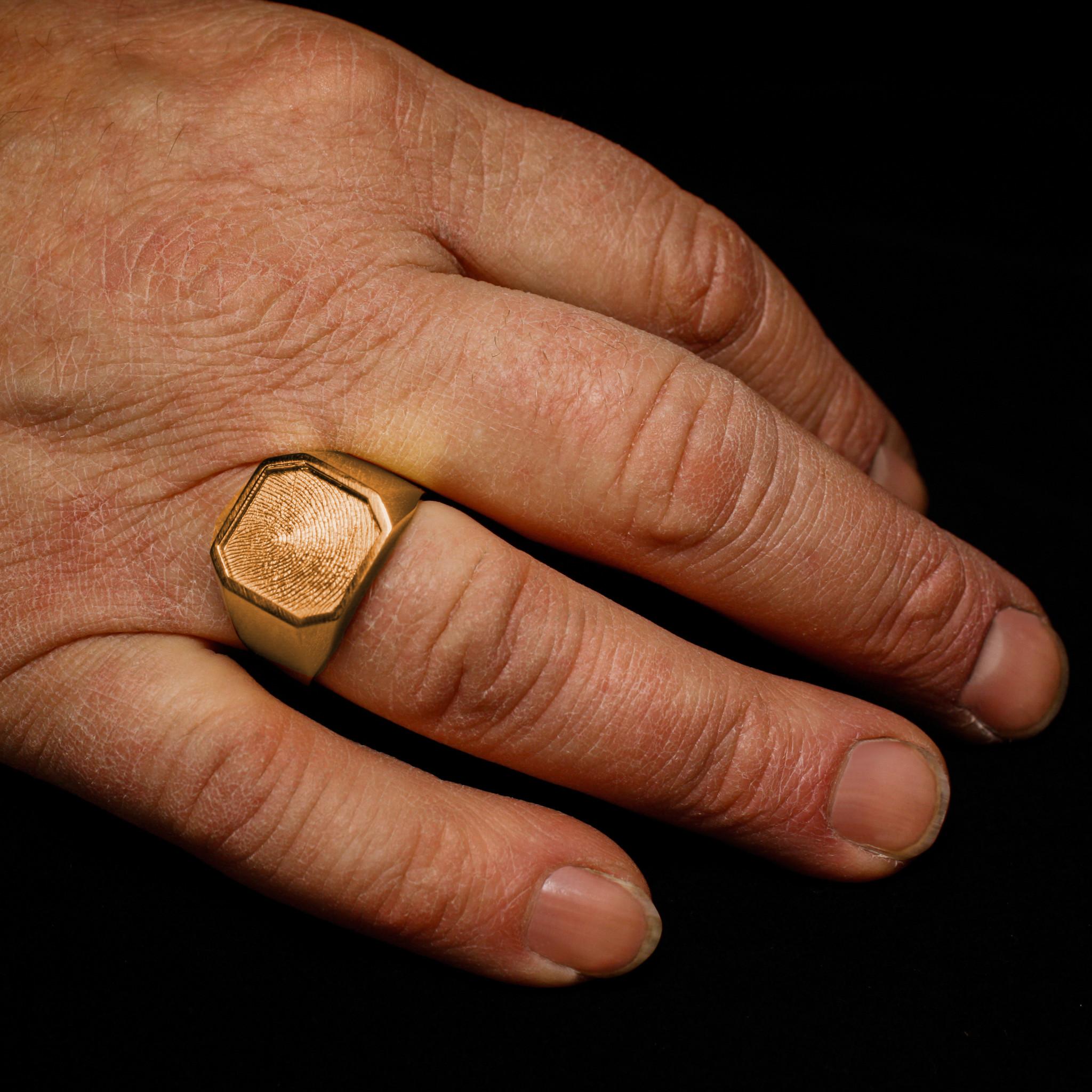Ring ALTIJD, goud-4