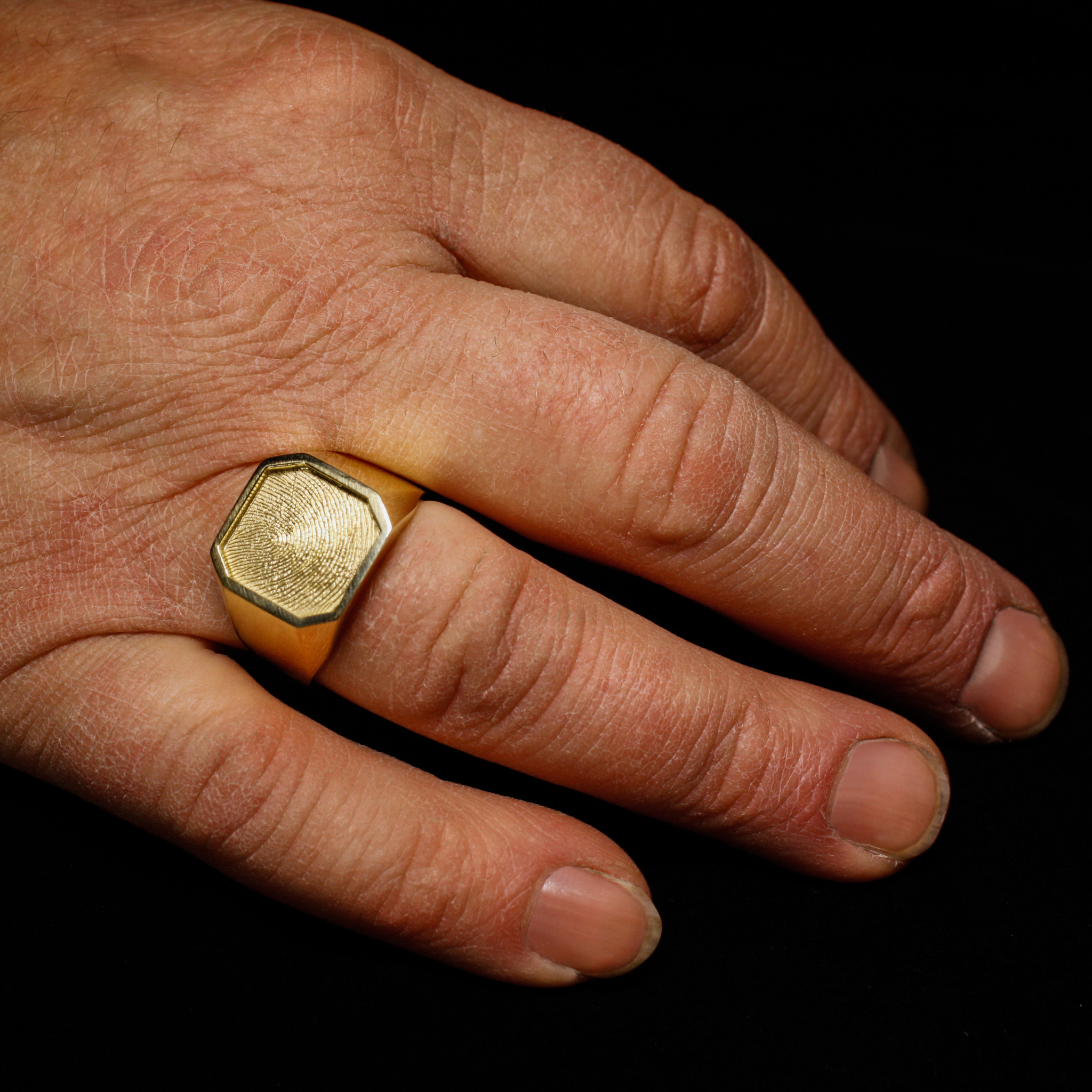 Ring ALTIJD, goud-5
