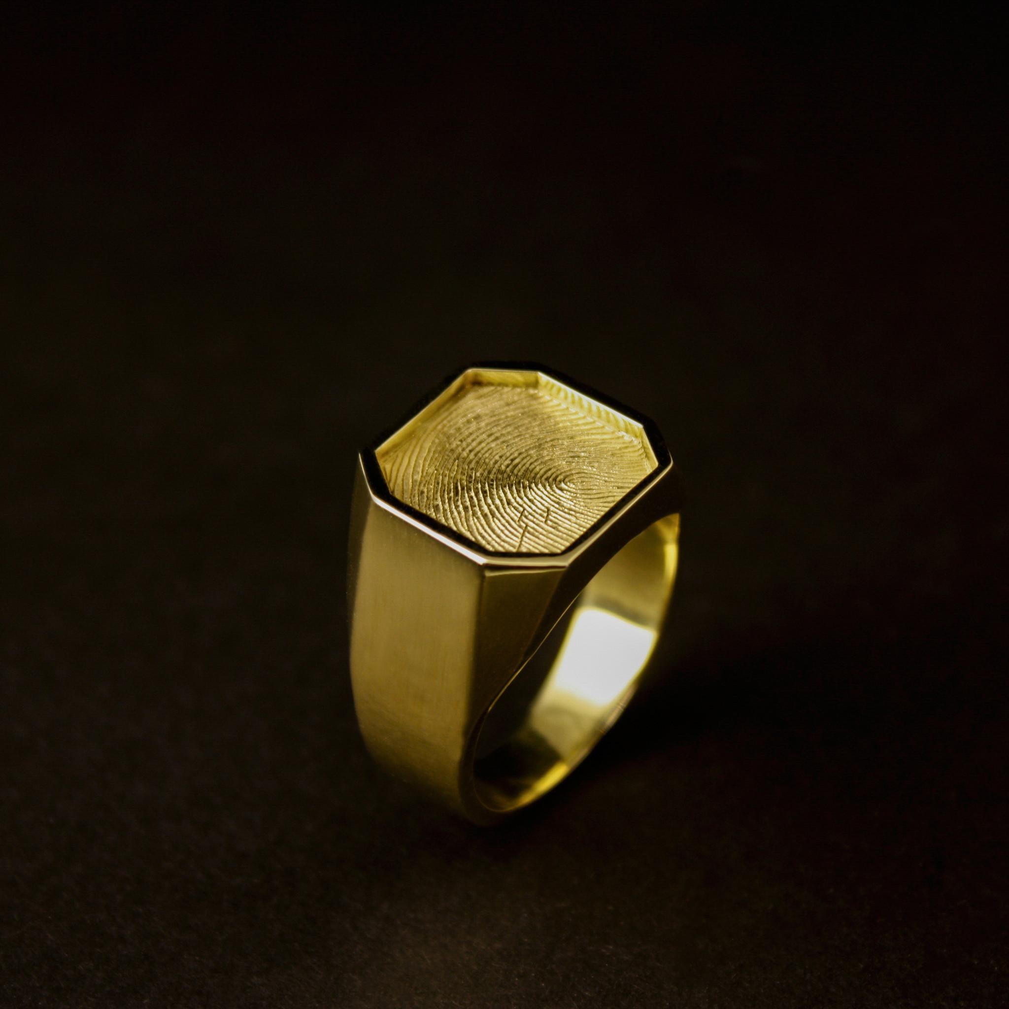 Ring ALTIJD, goud-1