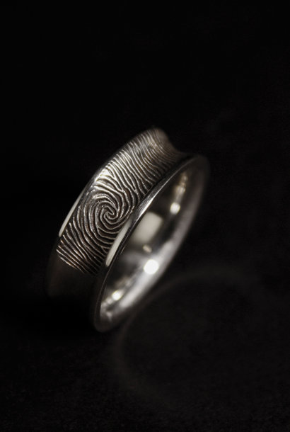 Ring TROUW, zilver