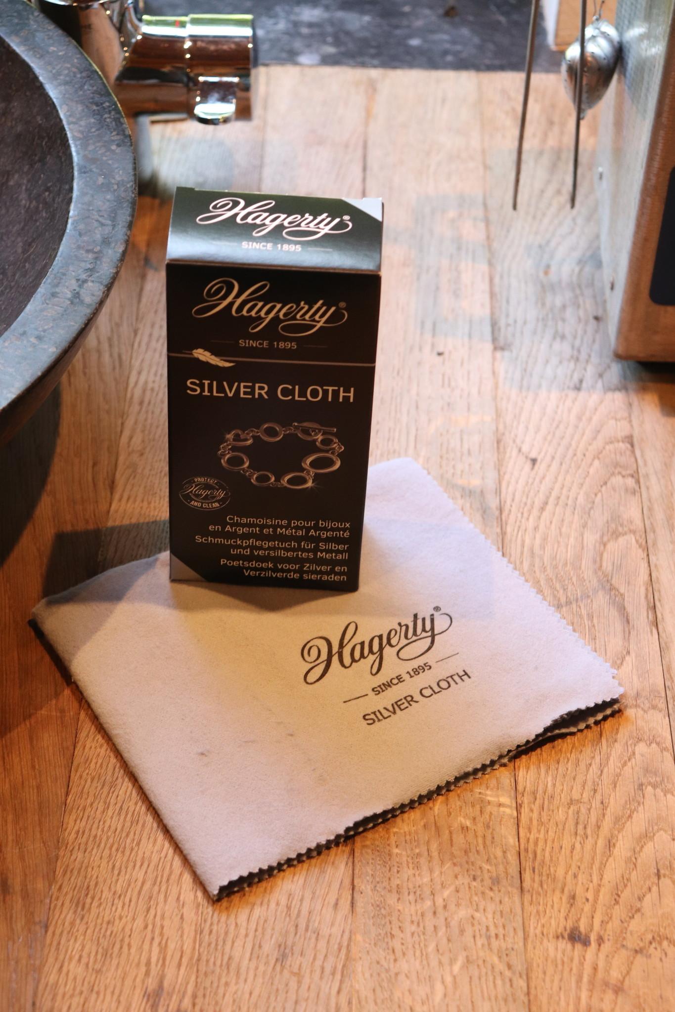 Hagerty onderhoudsdoek (zilver)-1