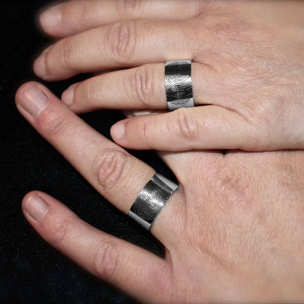 Ring PUUR, platina-2