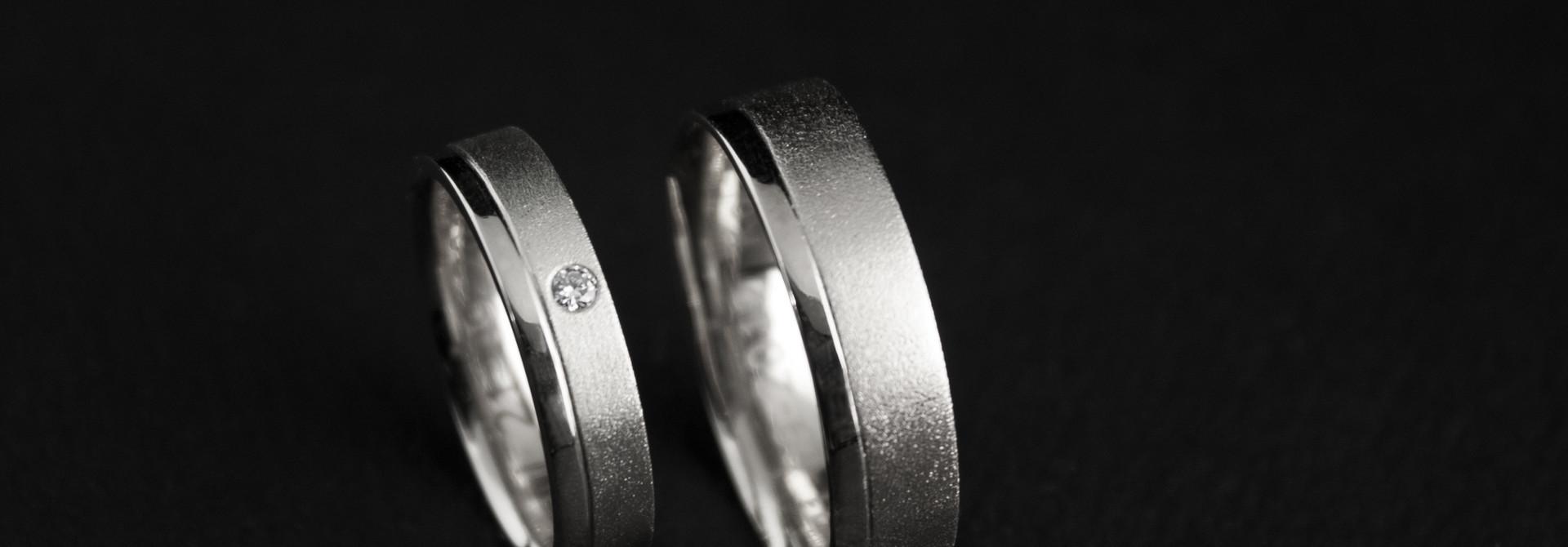 Ring RONDOM, platina