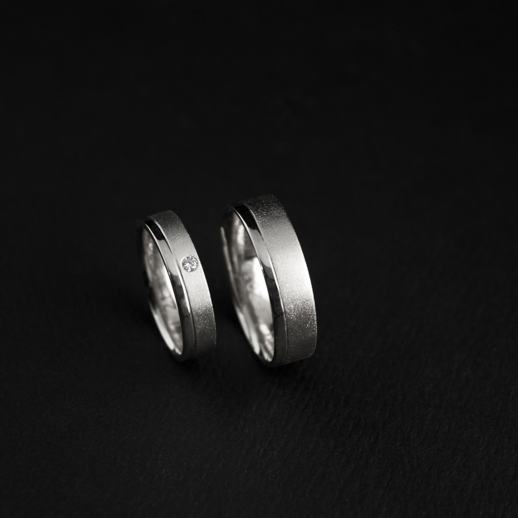 Ring RONDOM, platina-1
