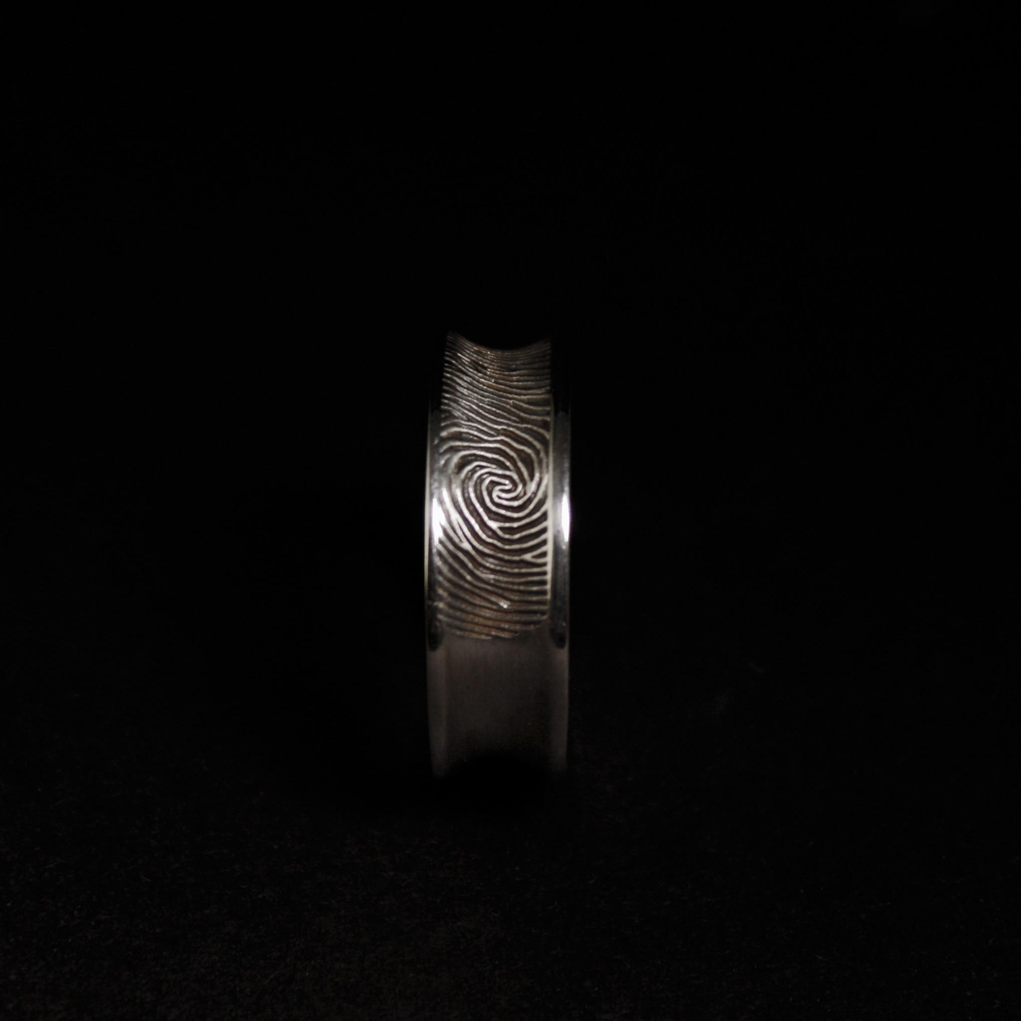 Ring TROUW, platina-4