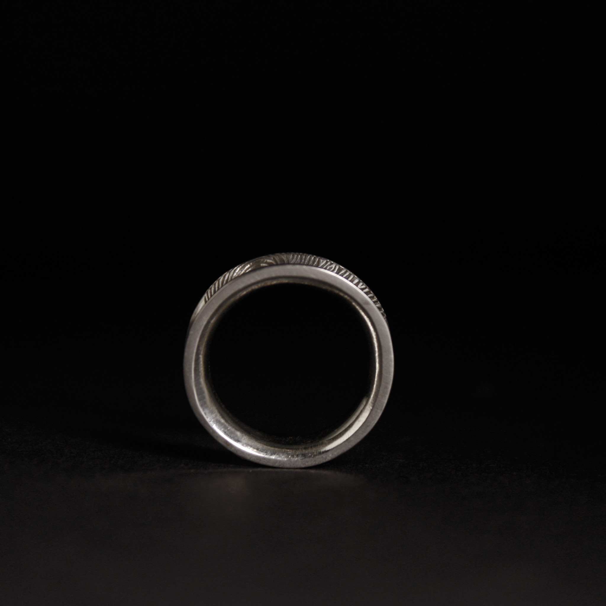 Ring TROUW, platina-6