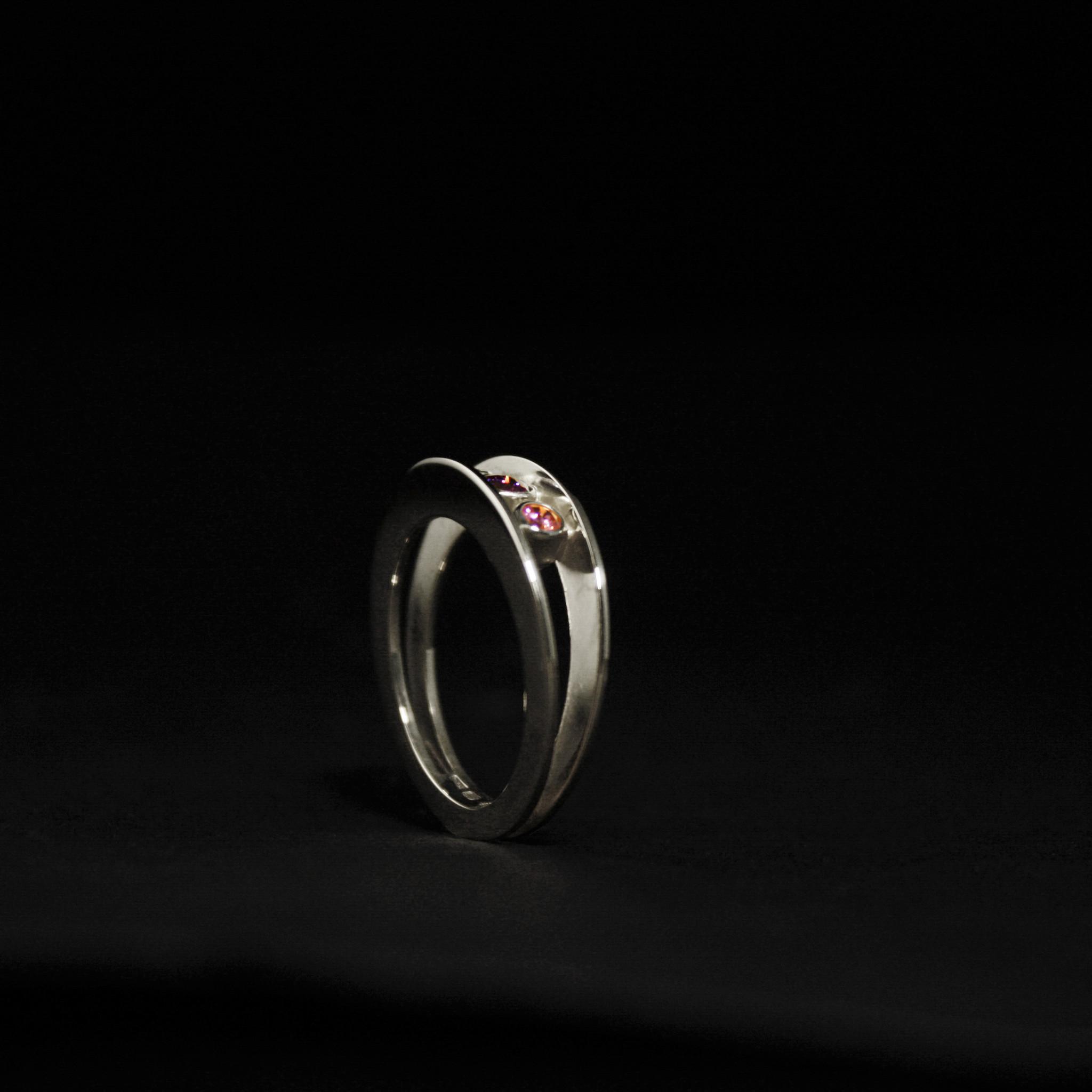 Ring STIJLIG, platina-1
