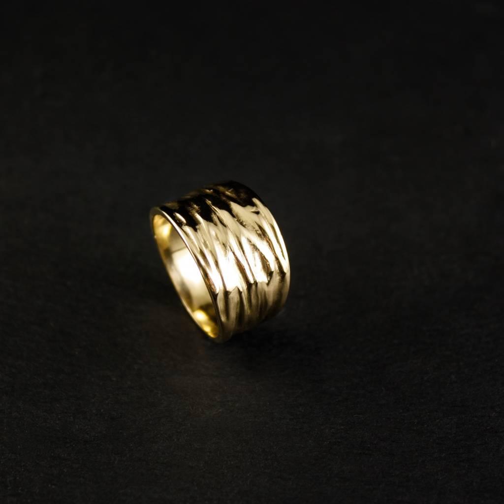 Ring KREUKEL, zilver-2