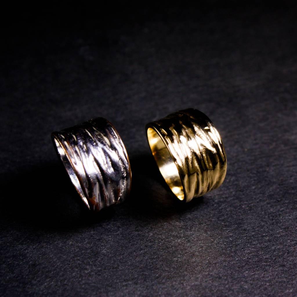 Ring KREUKEL, zilver-3