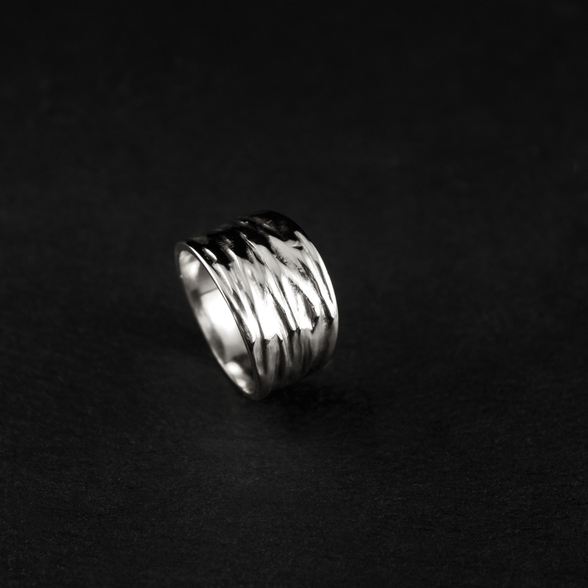 Ring KREUKEL, zilver-1