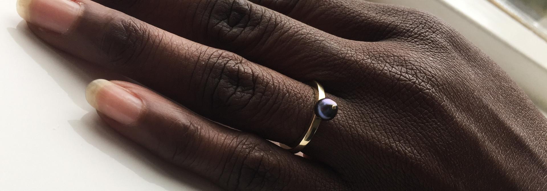 Ring PAREL, goud