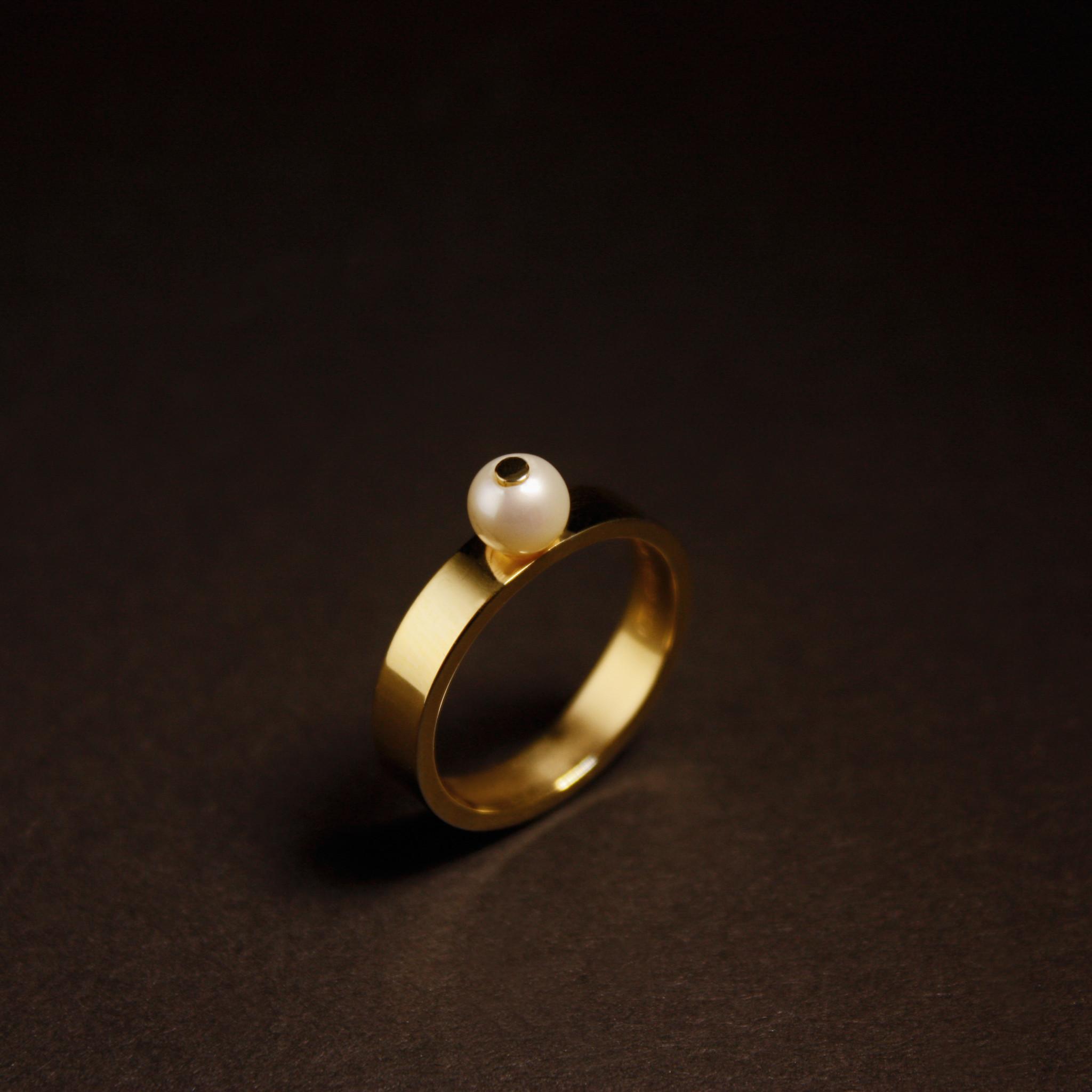 Ring PAREL, goud-3