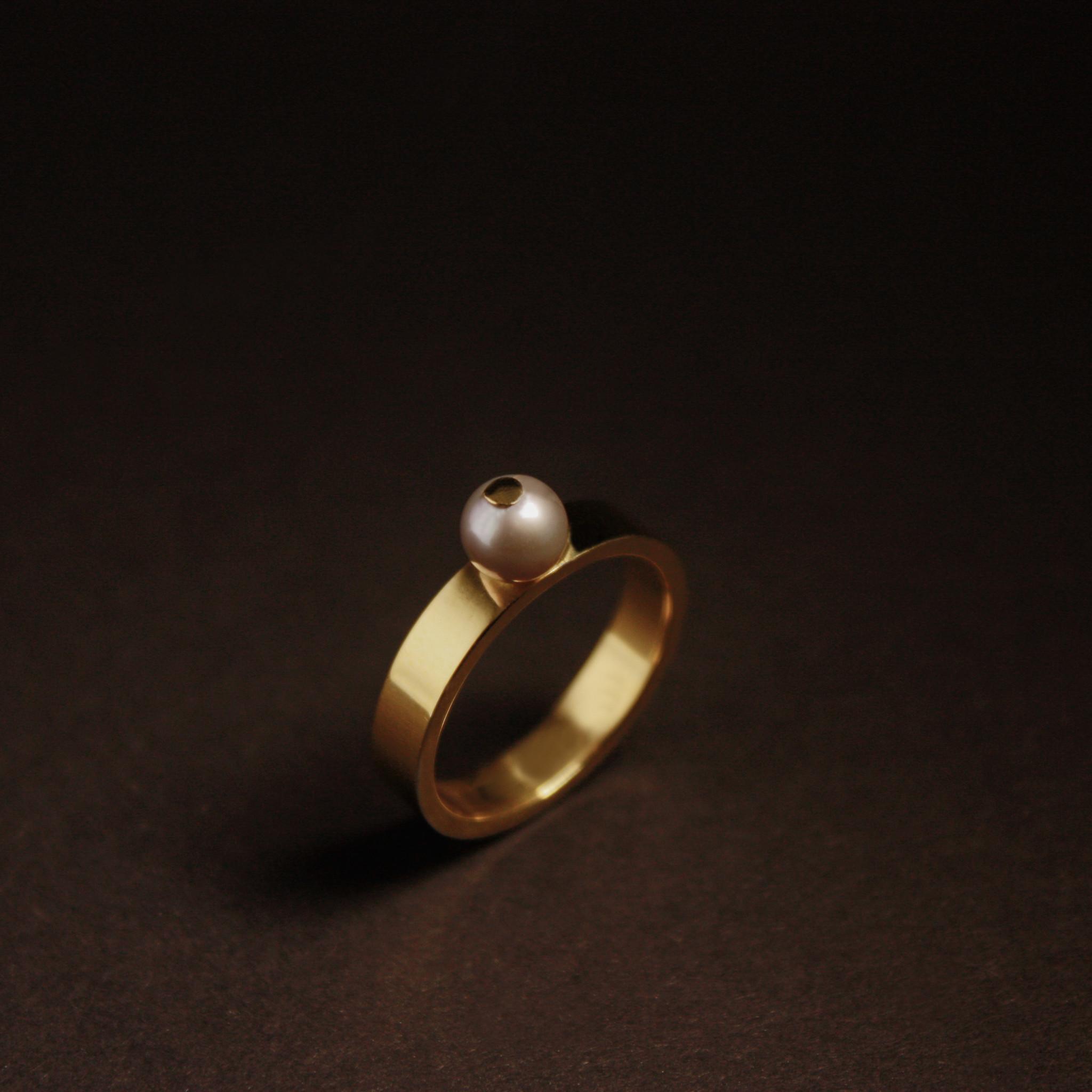 Ring PAREL, goud-5