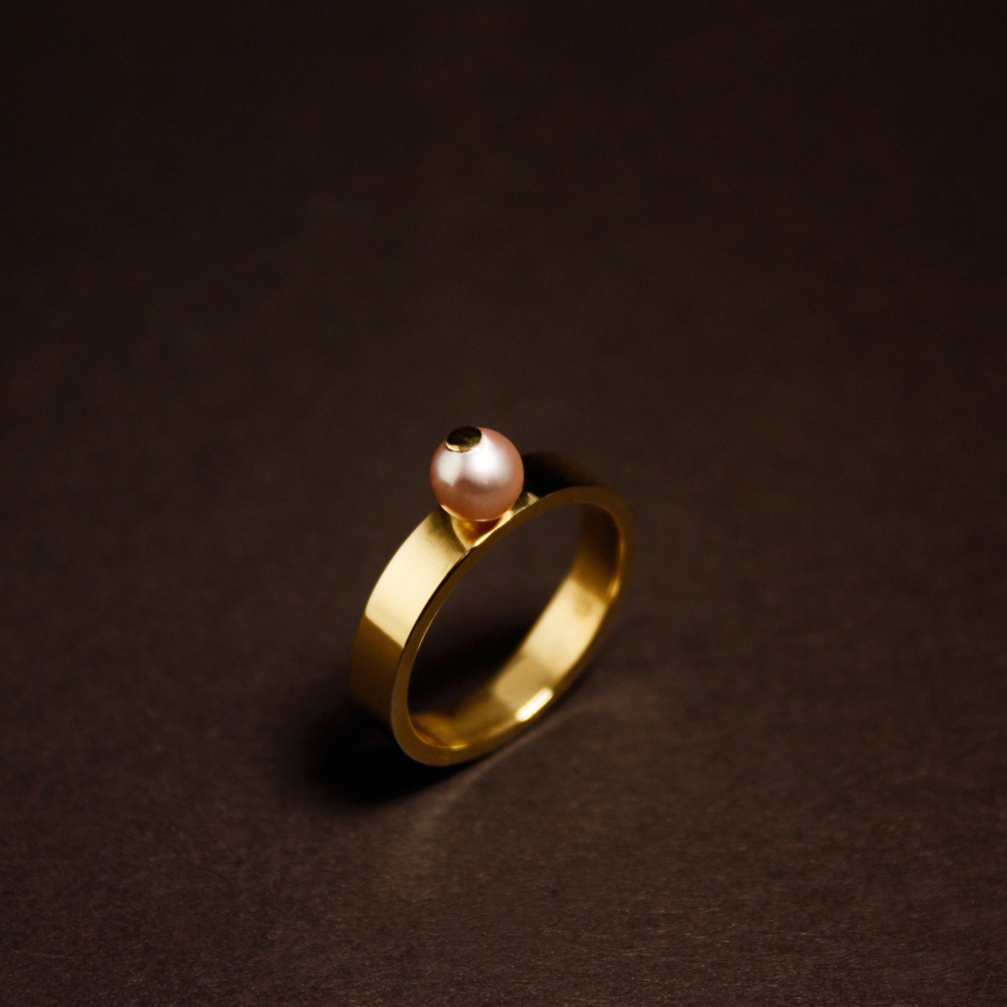Ring PAREL, goud-4