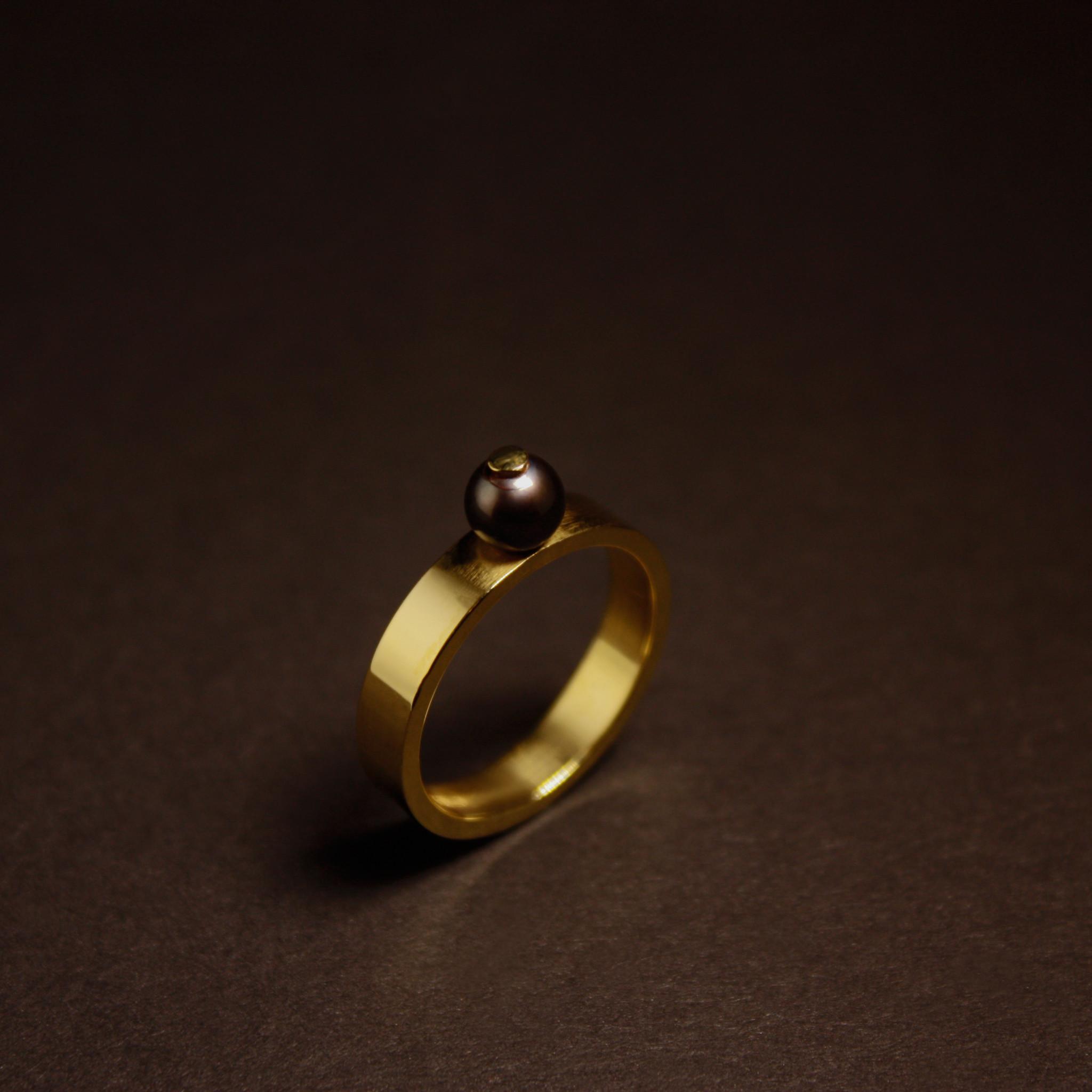 Ring PAREL, goud-6