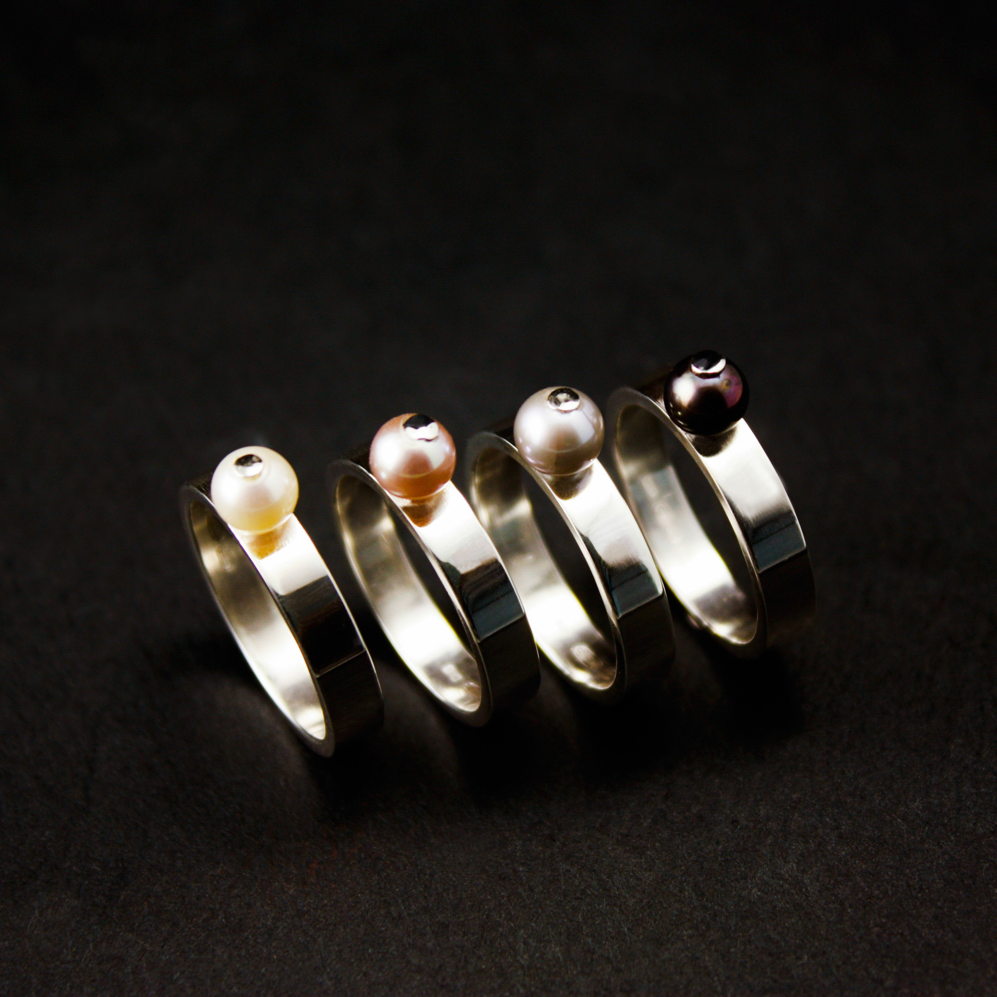 Ring PAREL, zilver-1