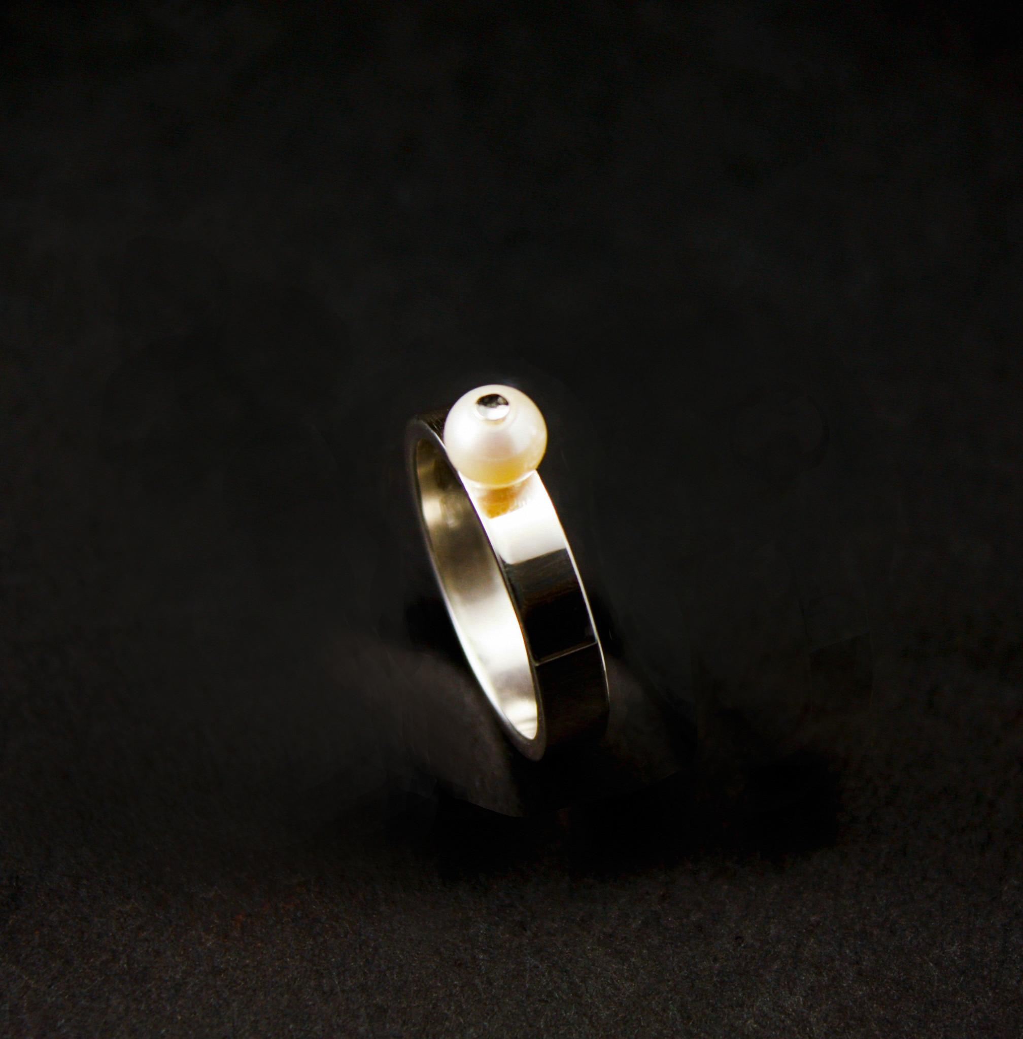 Ring PAREL, zilver-3
