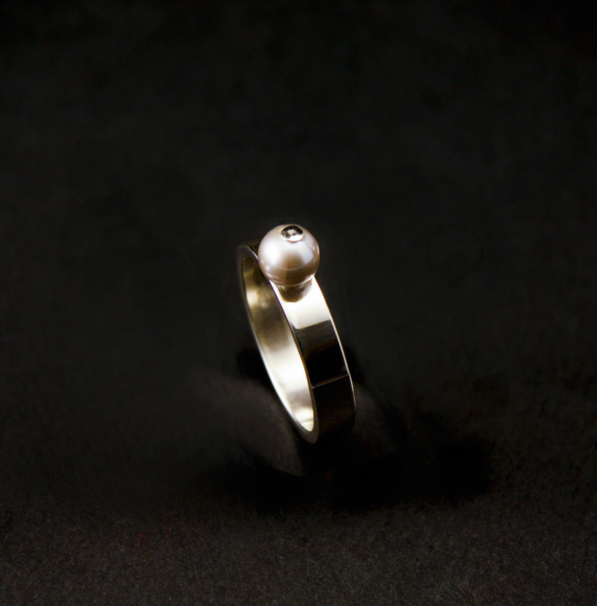 Ring PAREL, zilver-5