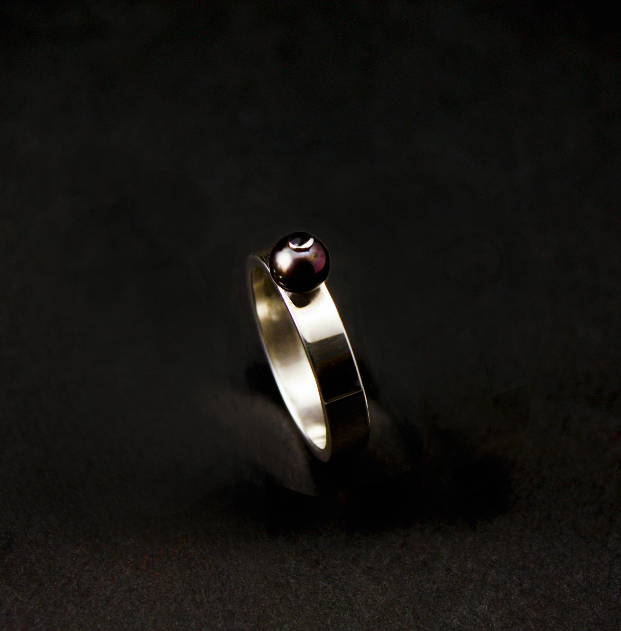 Ring PAREL, zilver-6