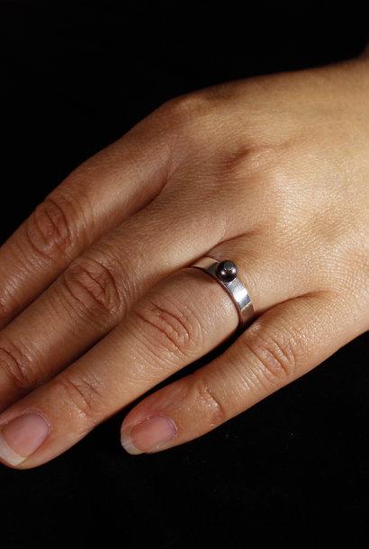 Ring PAREL, zilver