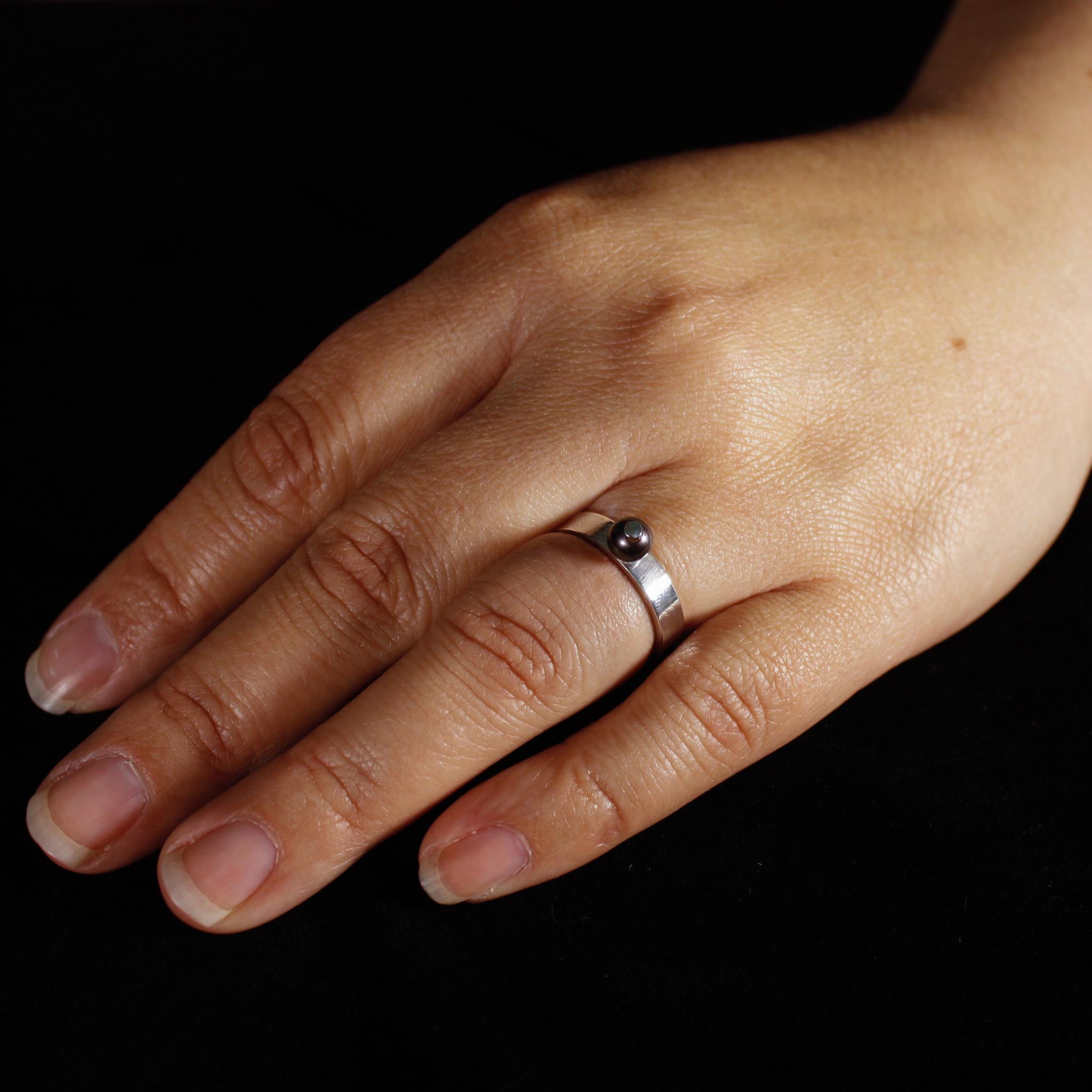 Ring PAREL, zilver-2
