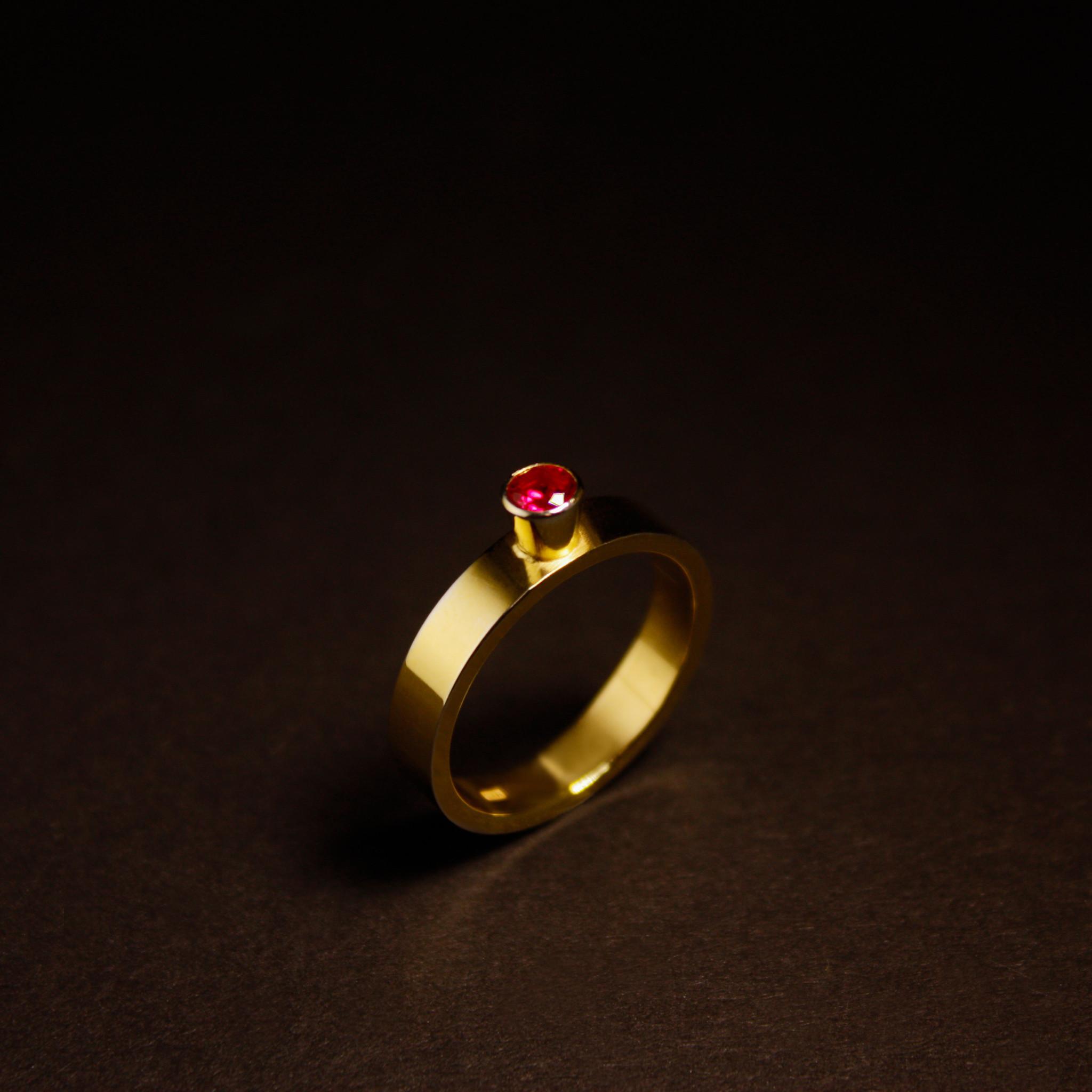 Ring WARE LIEFDE, goud-5