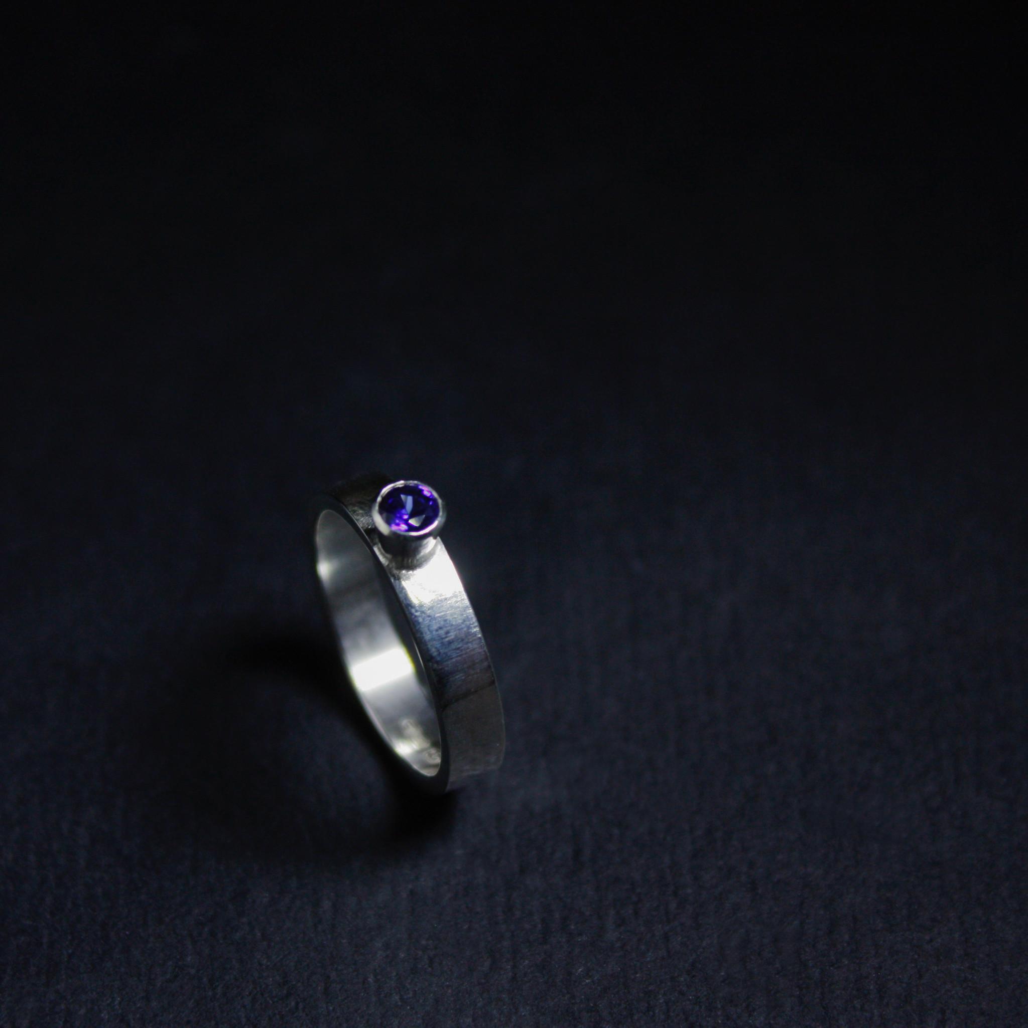 Ring WARE LIEFDE, zilver-3