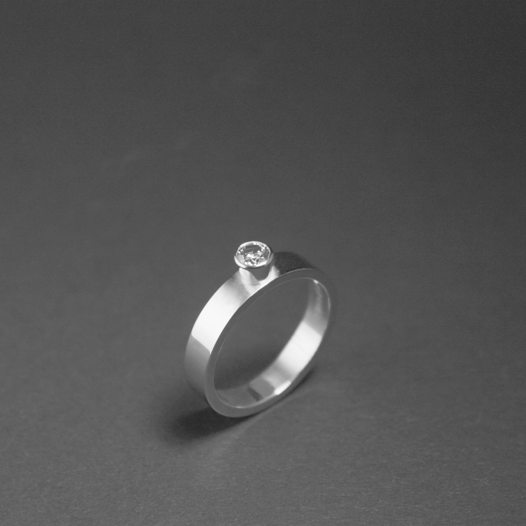Ring WARE LIEFDE, zilver-4