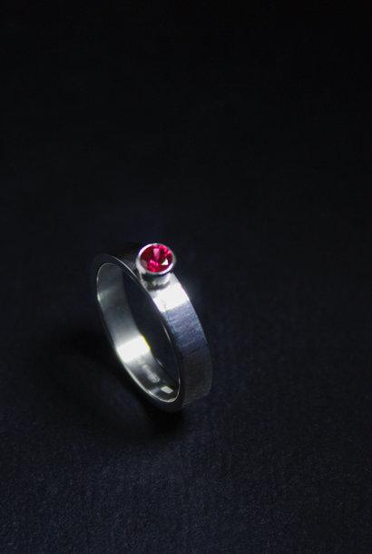 Ring WARE LIEFDE, zilver