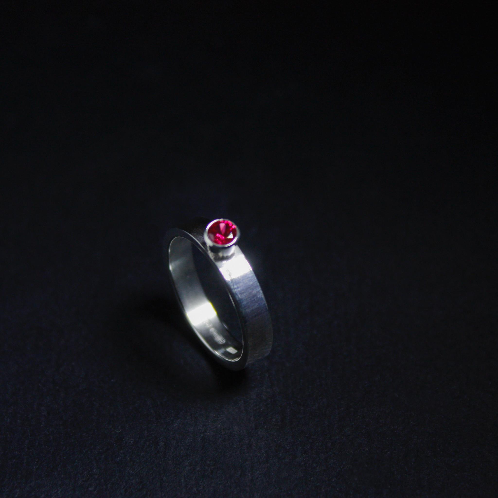 Ring WARE LIEFDE, zilver-6