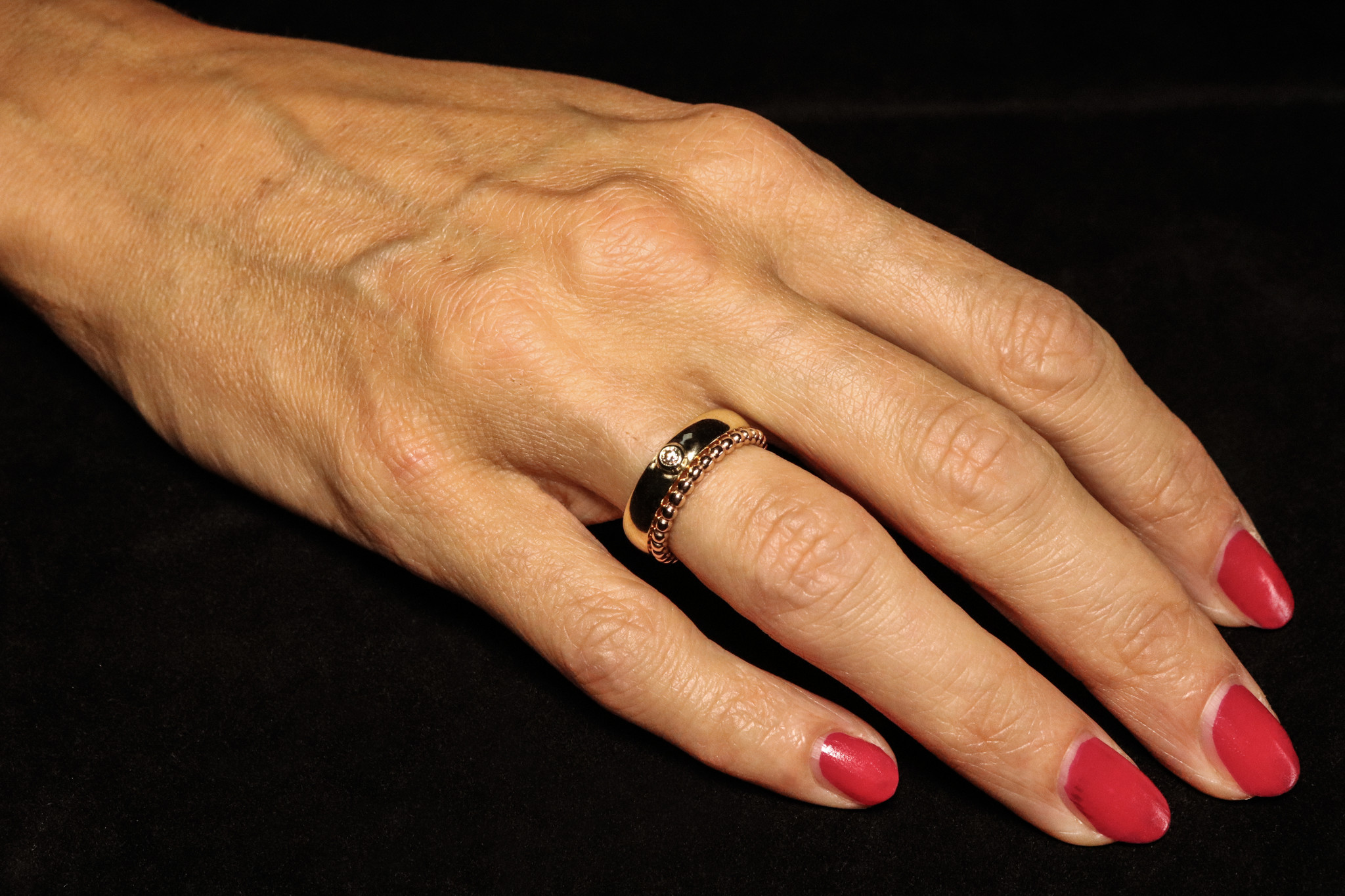 Ring PASSION, goud-2