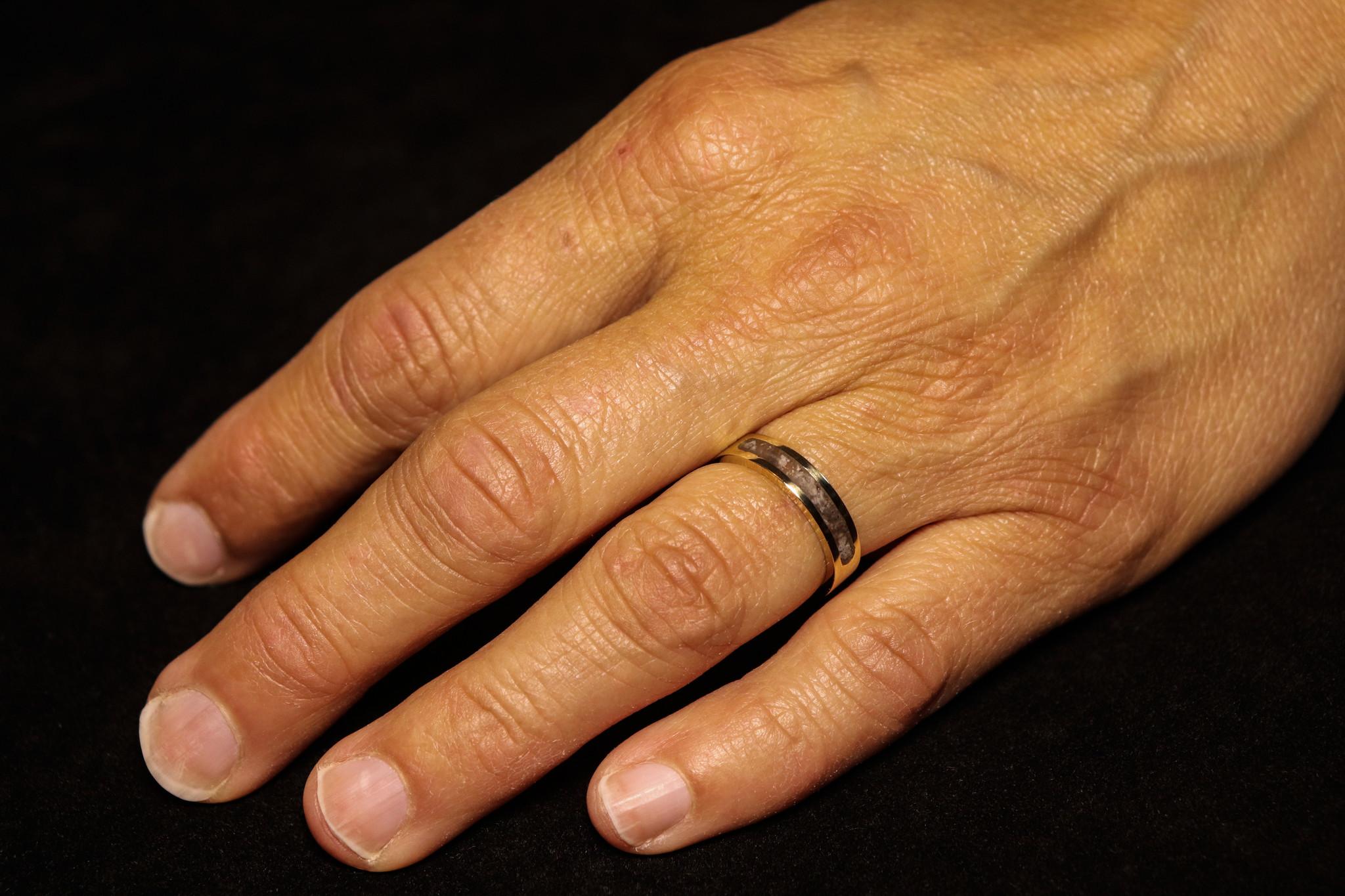 (As)ring DIERBAAR, goud-3