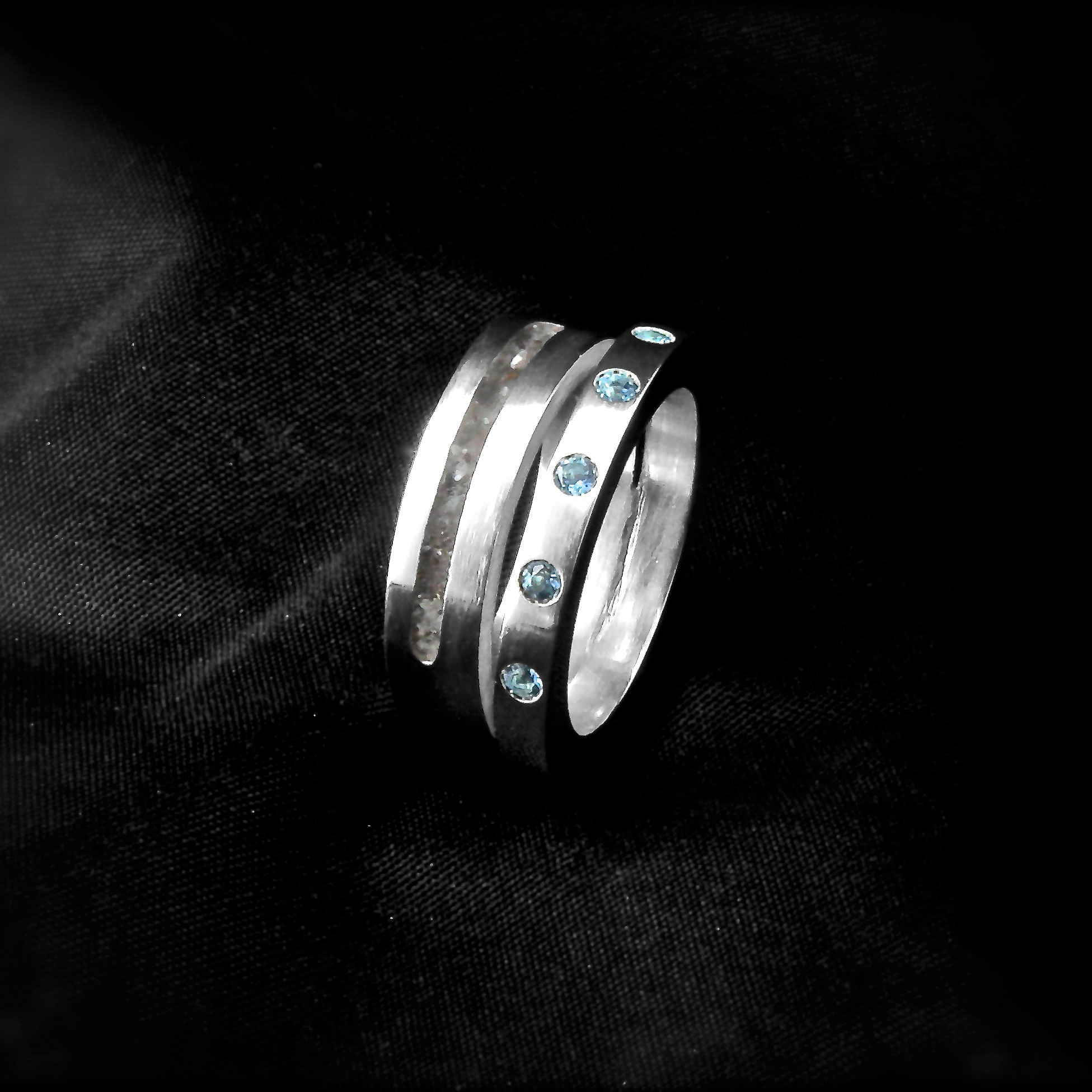 (As)ring LIEFDES, zilver-1