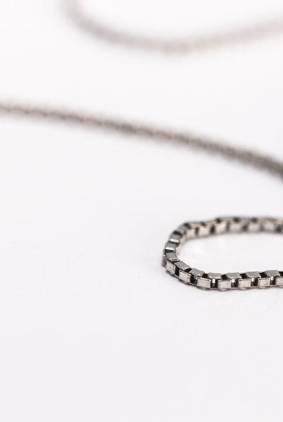 Collier VENETIAANS, zilver