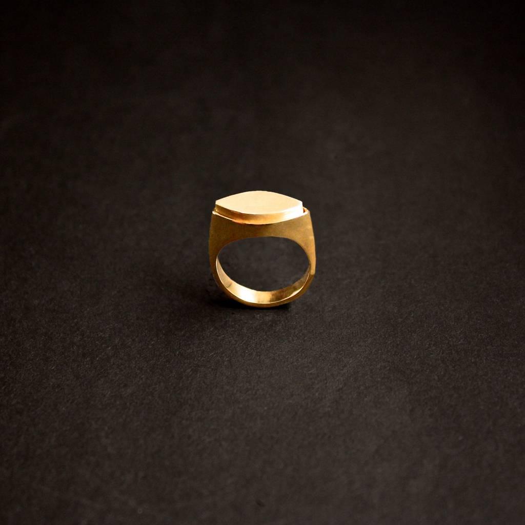 (As)ring MARKIES, goud-3