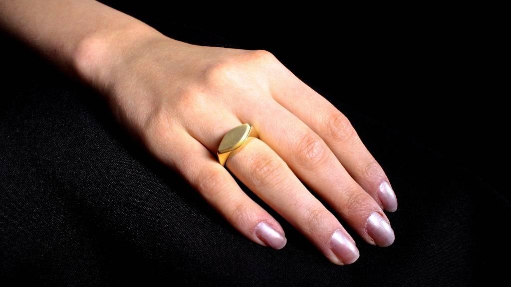 (As)ring MARKIES, goud-2