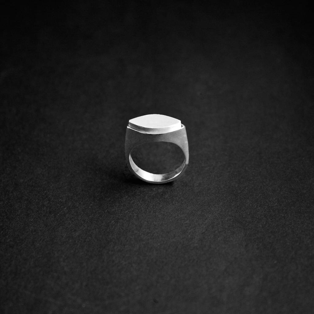 (As)ring MARKIES, zilver-3