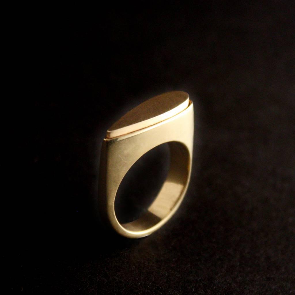 (As)ring SPAT, goud-2