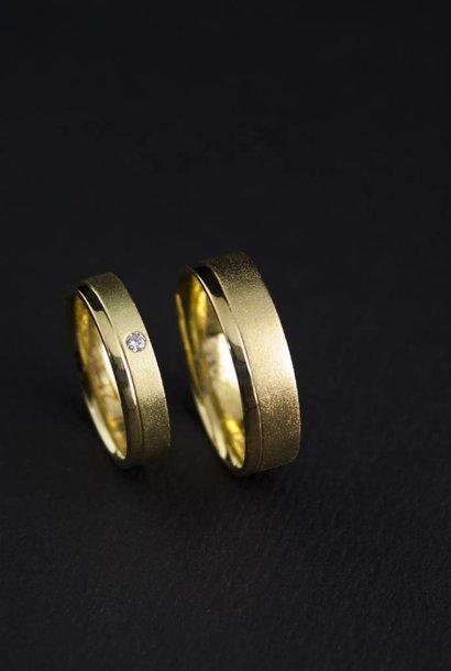 Ring RONDOM, goud