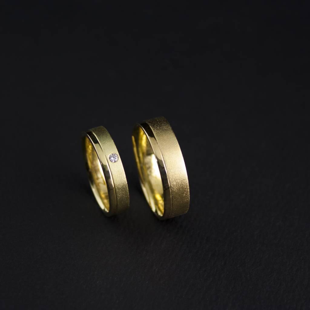Ring RONDOM, goud-1