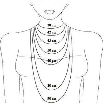 Collier OMEGA, zilver-4