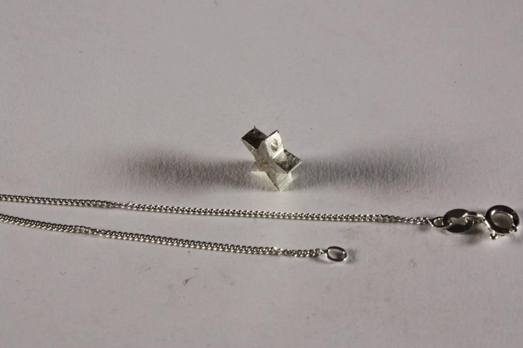 MARGRIET JEWELS Zilveren hanger STER