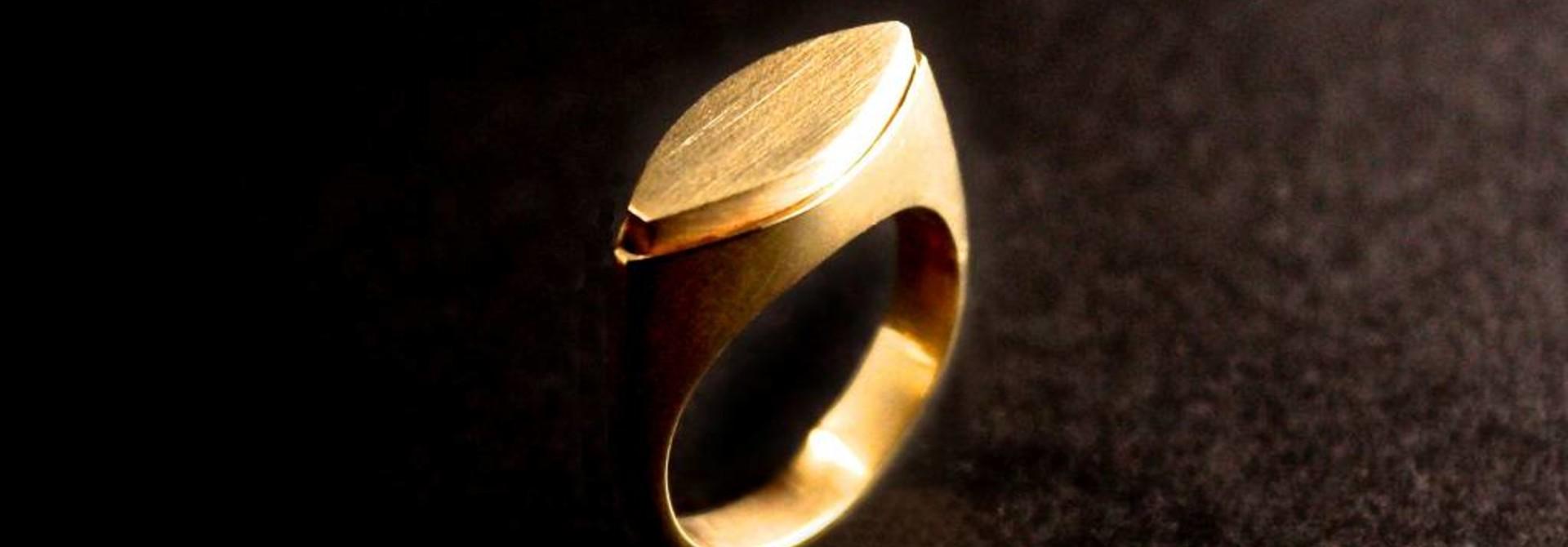 (As)ring MARKIES, goud