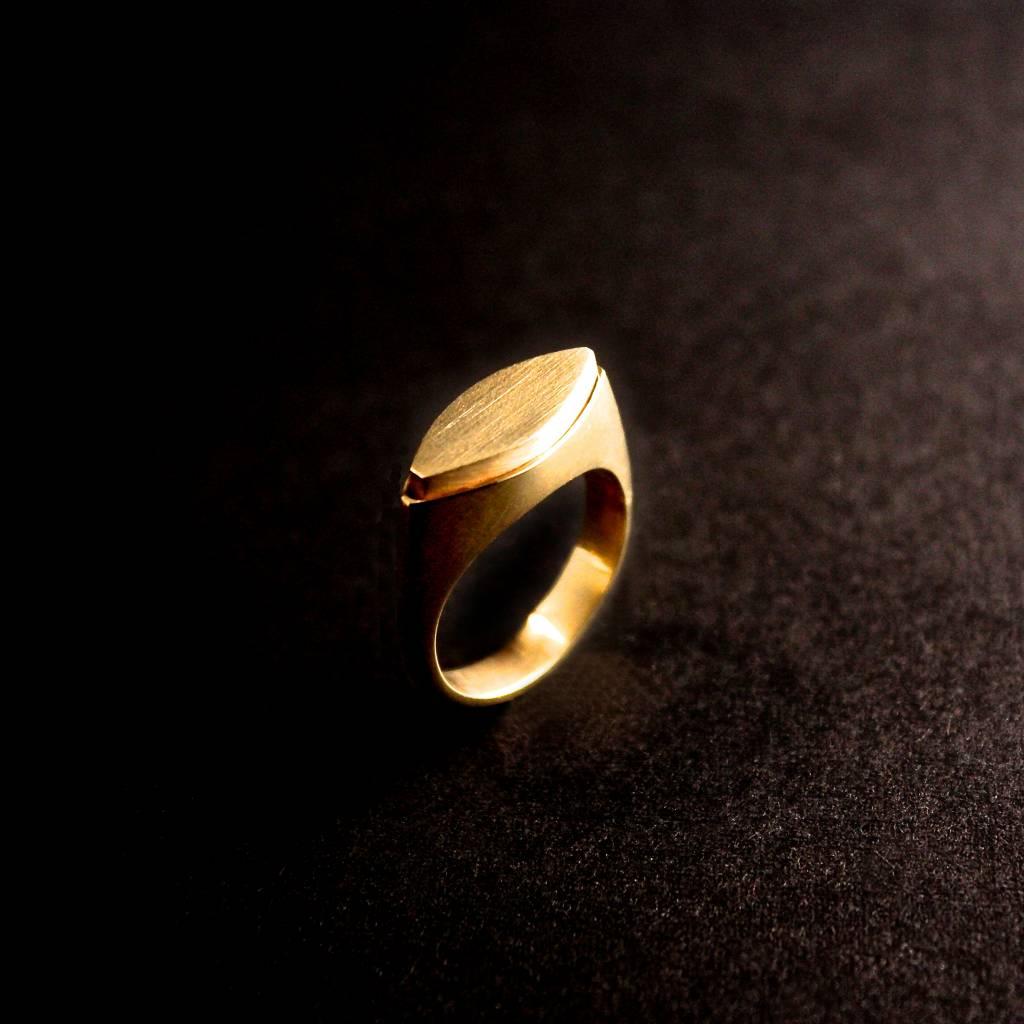 (As)ring MARKIES, goud-1