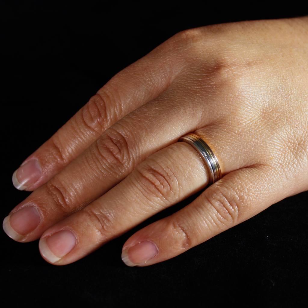Ring FRESIA, goud-6