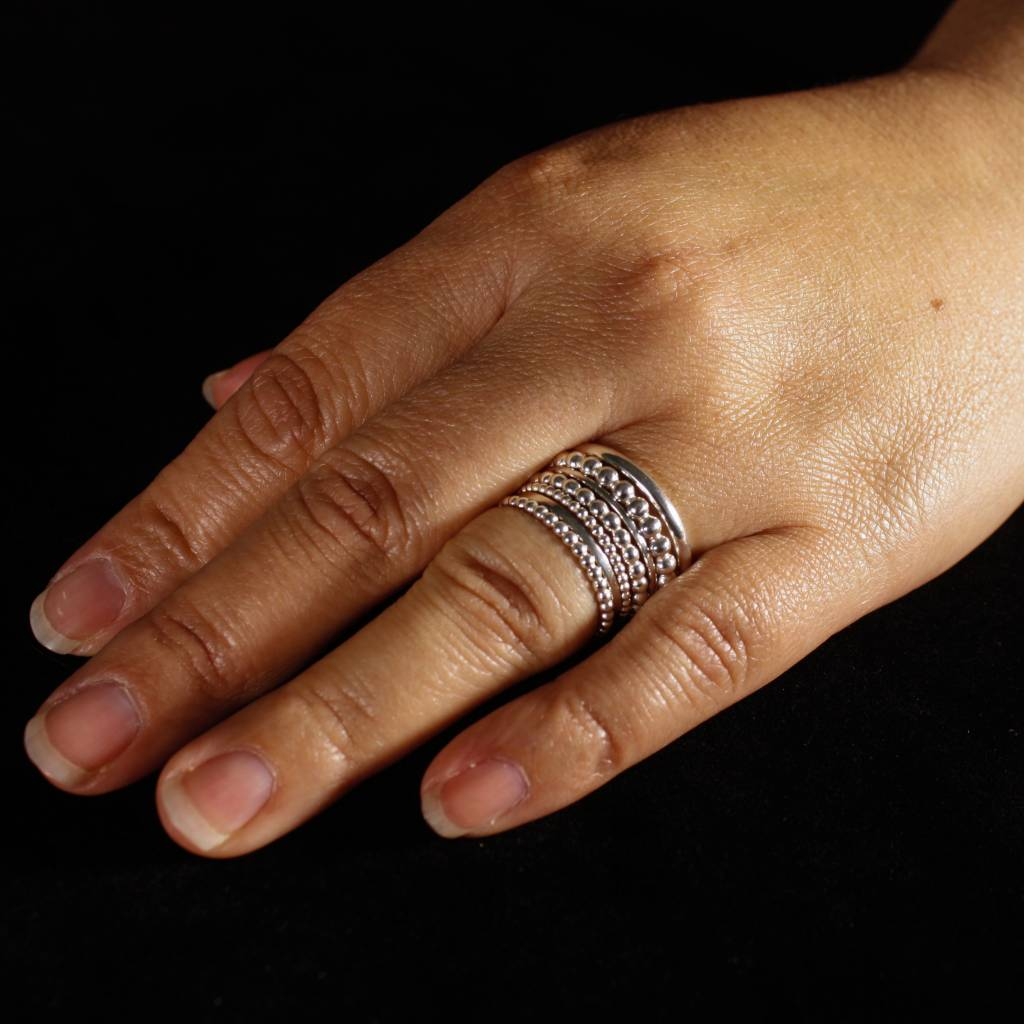 Ring FRESIA, zilver-5